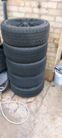 "17"" multifit wheels, 5x100/5x112 for audi, vw, skoda, seat"