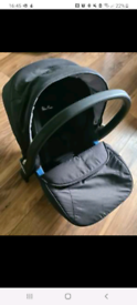Silver cross car seat and simplifix isofix base
