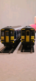 00 Gauge First Scotrail Class 156 2 Car DMU