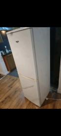 Bush slimline fridge freezer fully working order 12 months ish old
