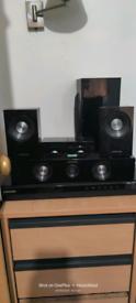 Samsung 5.1 Surround sound great sound quality.