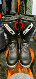 Sidi Motorcross / Enduro boots as new