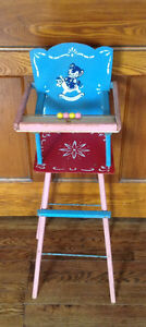 Vintage Dolls High Chair