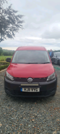 2011 red volkwagin caddy for sale Castlewellan area