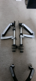 Monitor stand/arms x 2