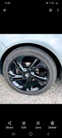 Vauxhall Corsa 17 Inch Alloy Wheels