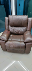 Lazy boy Electric recliner Armchair Brown free local delivery