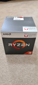 Brand New Sealed AMD Ryzen 3 2200g Processor and Graphics CPU
