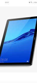 Huawei MediaPad T5 10.1 Inch 32GB WiFi tablet - Bl