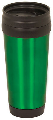 (Green Stainless Steel Travel Mug Coffee Tea Drink Travel Cup )