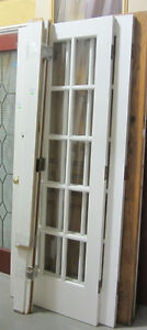 15 Lite Double French Door Set with Frame - 60 x 79