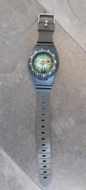 Diving compass watch