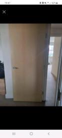 Pine effect doors x 6