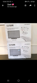 Luxor 24 inch HD ready SMART TV