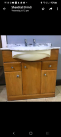Sink Basin with Marble top