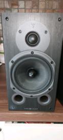 Wharfedale Diamond 9.1 speakers.