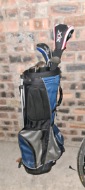 Golf bag and clubs - sold pending collection