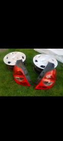 Pair Renault clio back lights