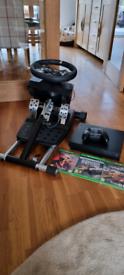 Xbox one X 1tb and logitech G920 wheel bundle