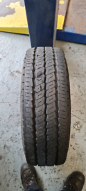 215/70/15C Continental VancoCamper tyres x2 7.5-8mm of tread !