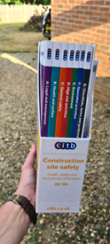 Construction site safety books
