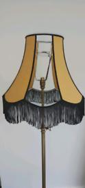 Mustard lamp shade