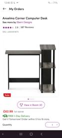 Small Compact Corner Desk from Wayfair
