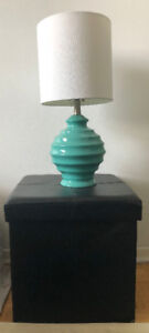 Lamps - Teal and White