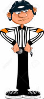 Arbitre de hockey sur glace /  Ice Hockey Referee