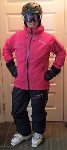 Manteau et pantalon de ski femme Peak Performance