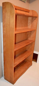 Solid Birch Bookcases x 2