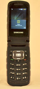 Durable Rugged Samsung Rugby II Flip phone on Telus