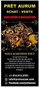 Or bijoux Prêt Achat&Vente