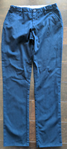 GAP pants (2 pairs, blue & tan) - 14 yrs