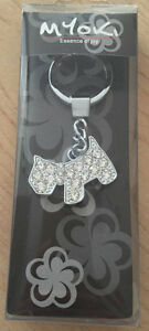 BNIB - Bling Scottish Terrier Key Chain
