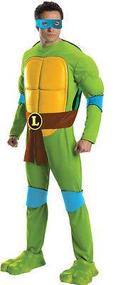Teenage Mutant Ninja Turtles Deluxe Leonardo Tmnt Erwachsene Halloween Kostüm