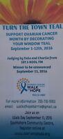 Volunteers Needed In Support Of Ovarian Cancer Awareness