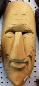 Tribal Wooden Mask clearance