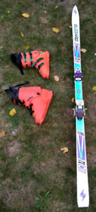 Blizzard skis and boots