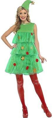 Damen Sexy Weihnachtsbaum Xmas Neuheit Lustige Verkleidung Outfit - Weihnachtsbaum Outfit