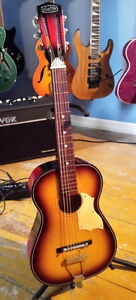 Norma FG-3 Stella 3/4 size Parlor Guitar Great Action Easy Playi