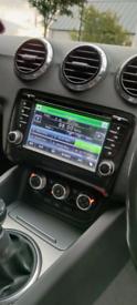 "A-sure 7"" WinCE GPS Navi Car Radio Stereo Headunit Audi TT mk2"