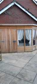 Garden room and shed