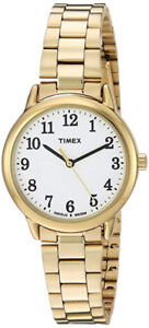 Timex Women's TW2R23800 Easy Reader Stainless Steel