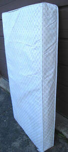 2 Crib spring Mattresses in good clean condition, $15 and $20