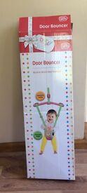 Door baby bouncer