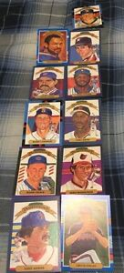 11 Donruss Diamond Kings Baseball Cards