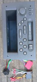 Tape car radio