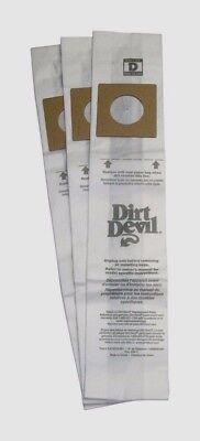 Dirtdevil Vacuum Bag Type D 3670147001 3 Bags
