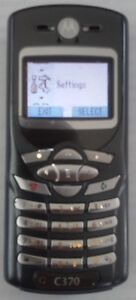 Motorola C370 with key button